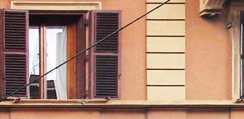 Rilievo delle fessurazioni edificio via Montesanto Roma