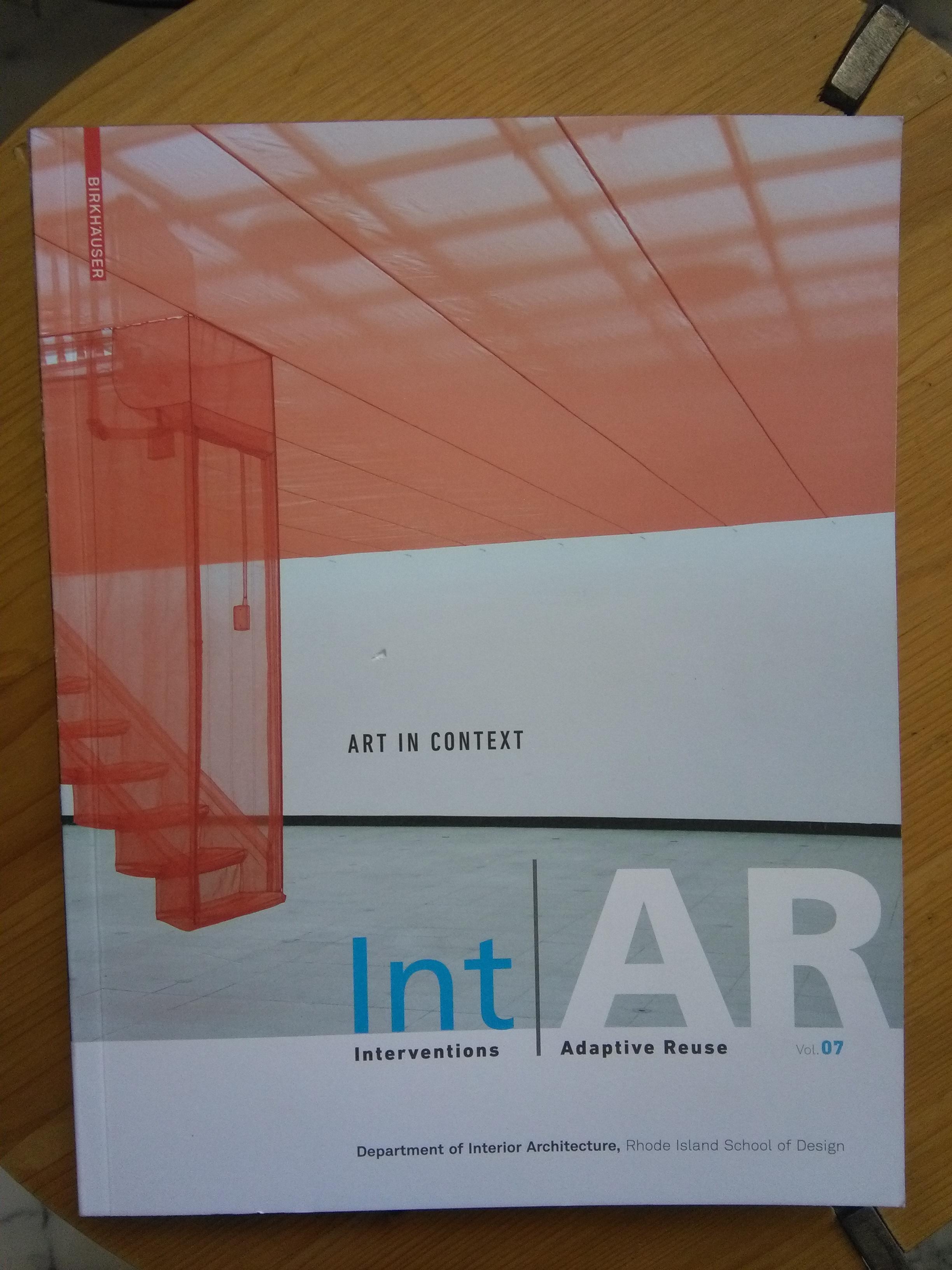 Int|AR Journal - Rhode Island School of Design - issue 7